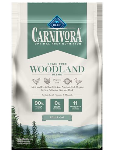 Blue Buffalo Carnivora Grain-Free Woodland Blend Adult Dry Cat Food, 4-lb bag
