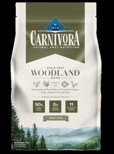 Blue Buffalo Carnivora Grain-Free Woodland Blend Adult Dry Dog Food, 4-lb bag