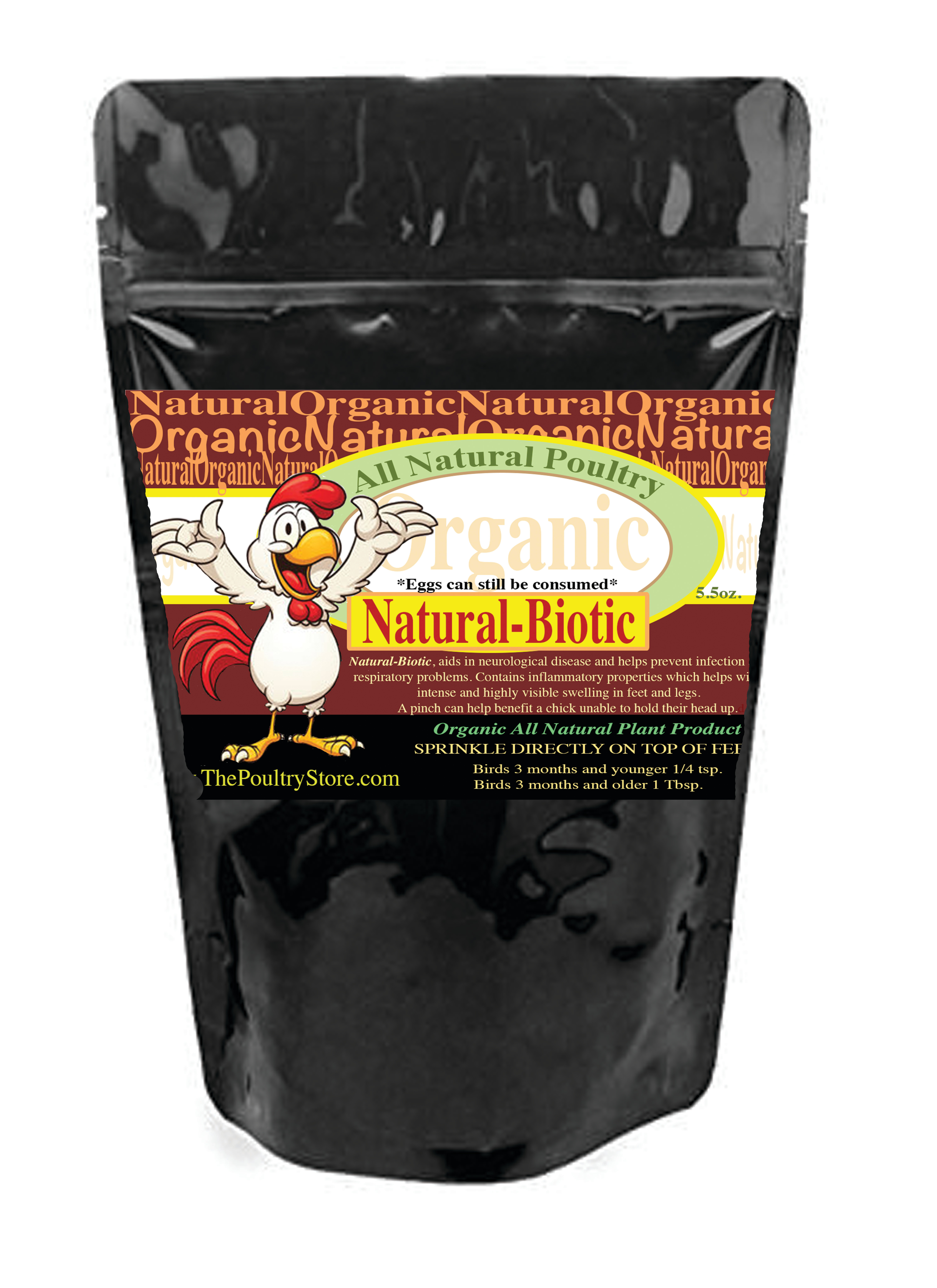 The Poultry Store Organic Respiratory  Poultry Supplement, 16-oz