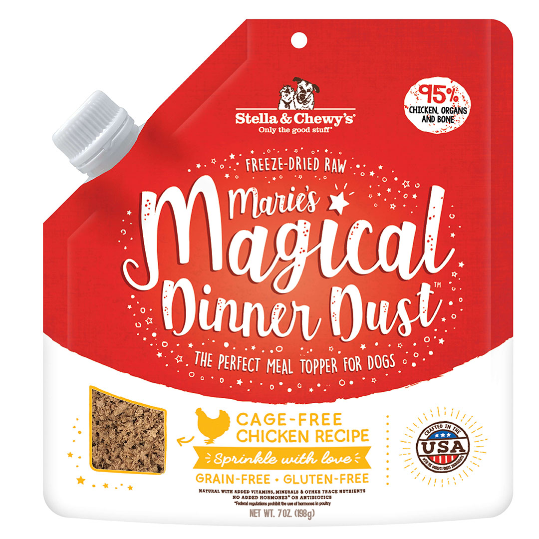 Stella & Chewy's Magical Dinner Dust Freeze-Dried Dog Food Topper, Chicken Image