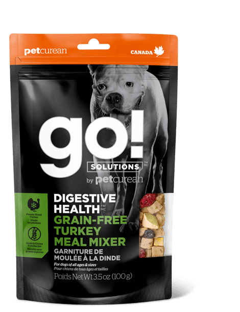 Go! Digestive Health Grain-Free Turkey Meal Mixer Freeze-Dried Dog Food Topper Image