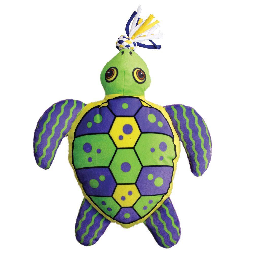 KONG Aloha Turtle Dog Toy, Small/Medium