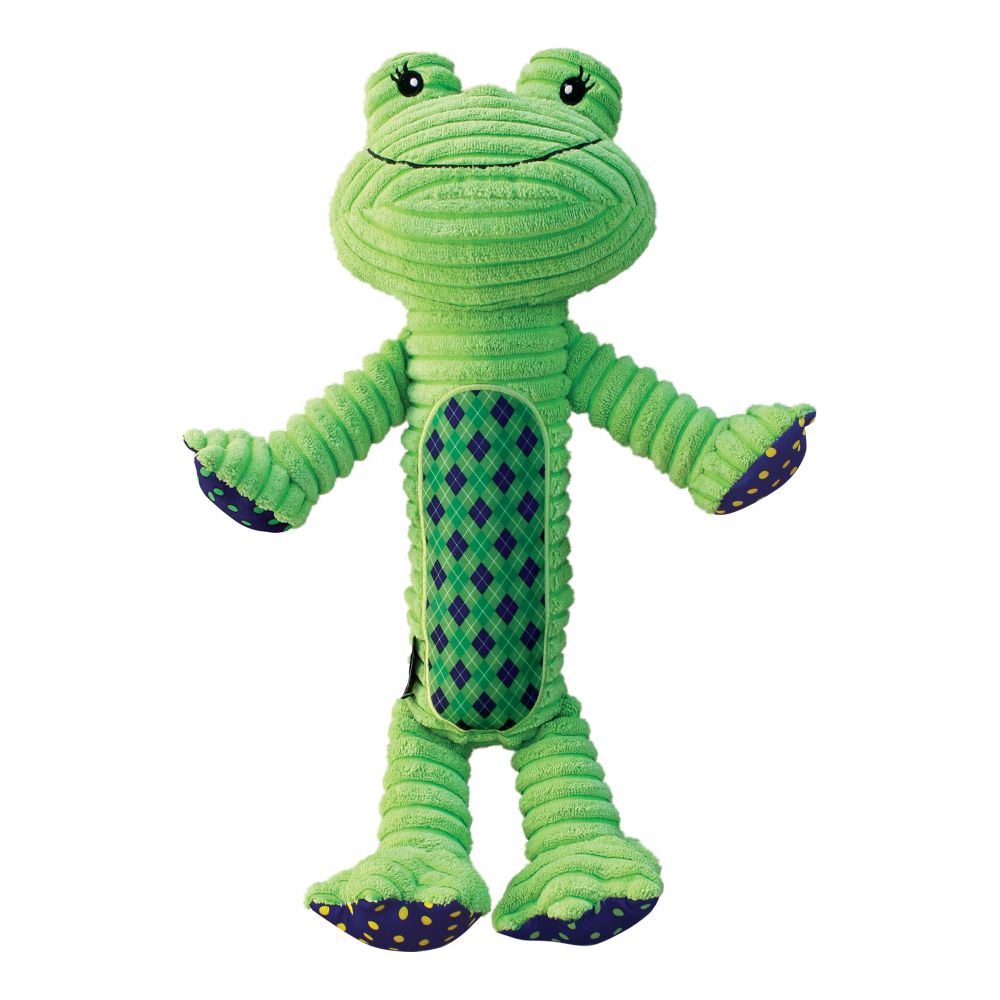 KONG Patches Adorables Frog Dog Toy, X-Large (Size: X-Large) Image