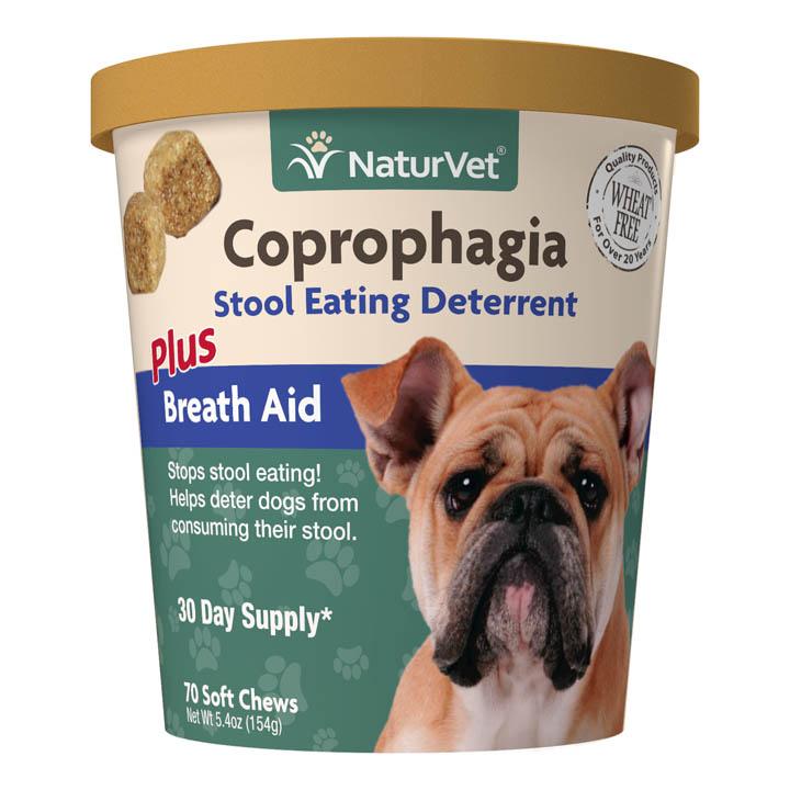 Naturvet Coprophagia Deterrent Plus Breath Aid Soft Chews for Dogs Image