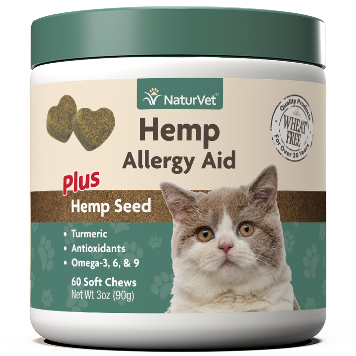 Naturvet H Allergy Aid Soft Chews for Cats, 60-count