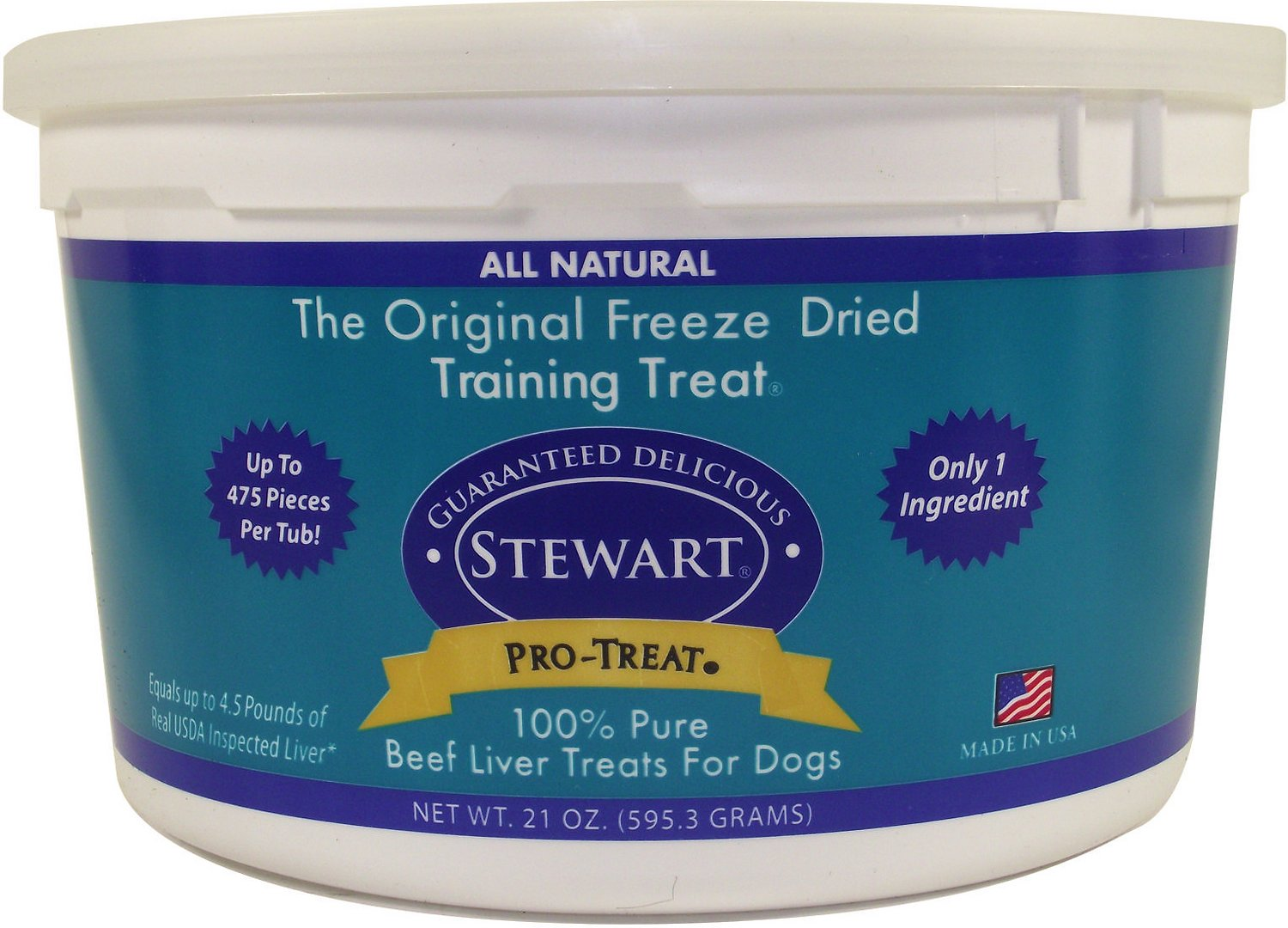 Stewart Pro-Treat Beef Liver Freeze-Dried Dog Treats Image