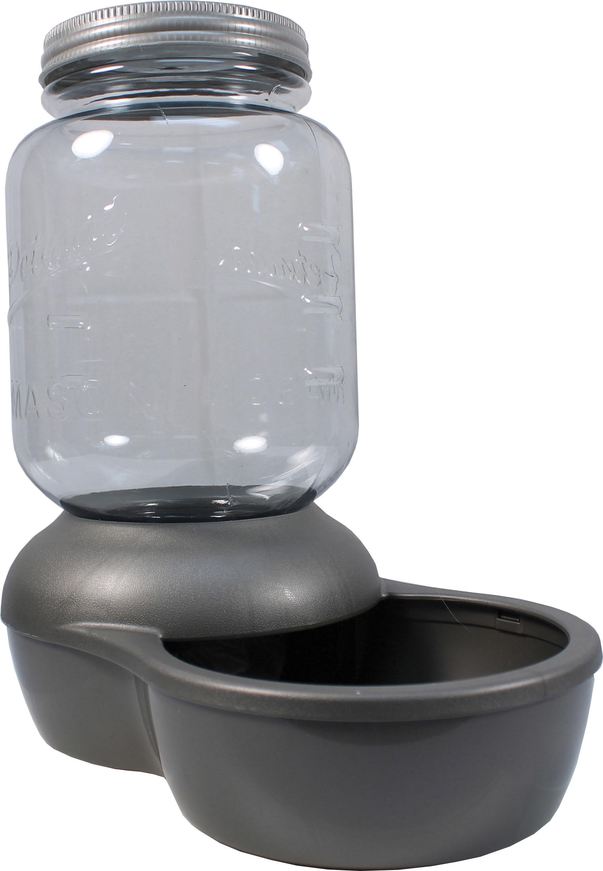 Petmate Mason Replendish Waterer for Pets, 1-gallon (Size: 1-gallon) Image