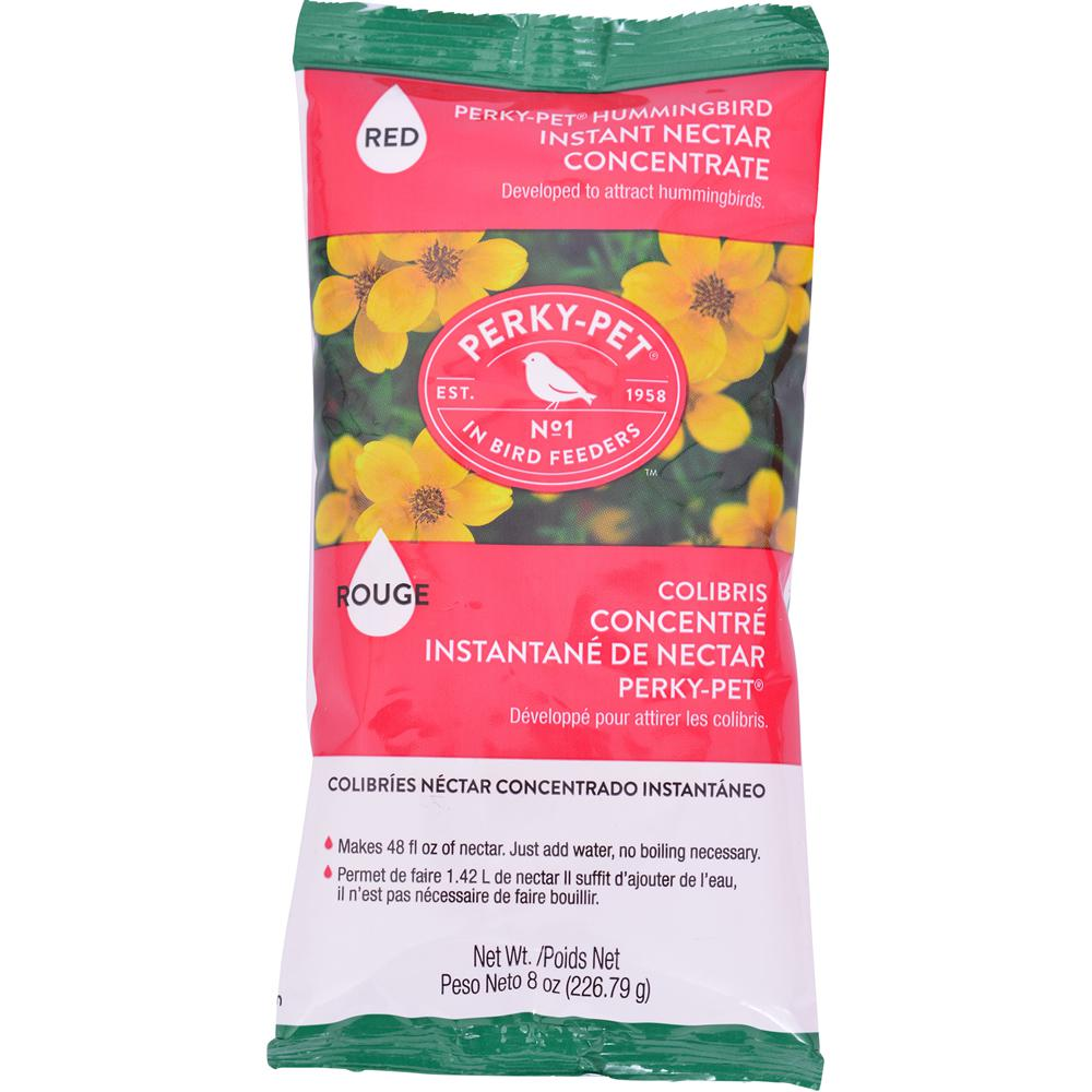 Perky-Pet Hummingbird Nectar Concentrate Powder, Red, 8-oz