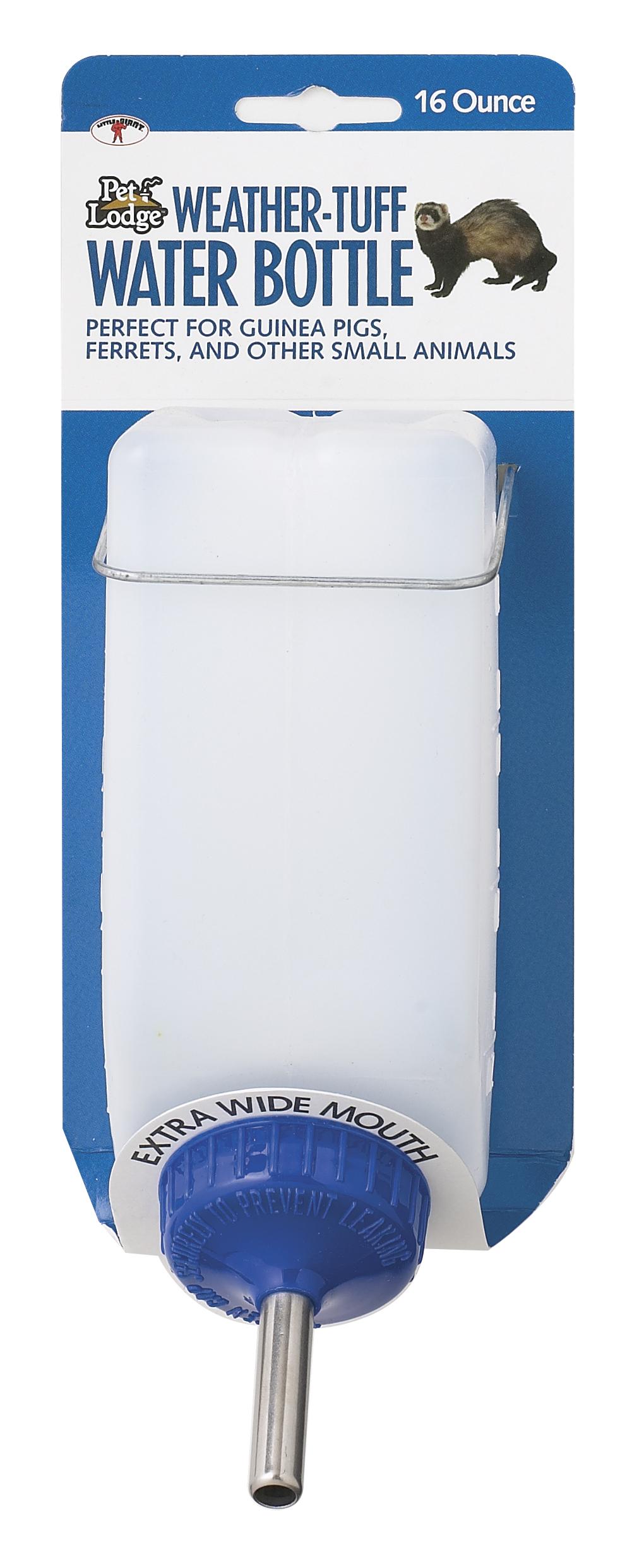 Miller Pet Lodge Weather-Tuff Small Animal Water Bottle, 16-oz