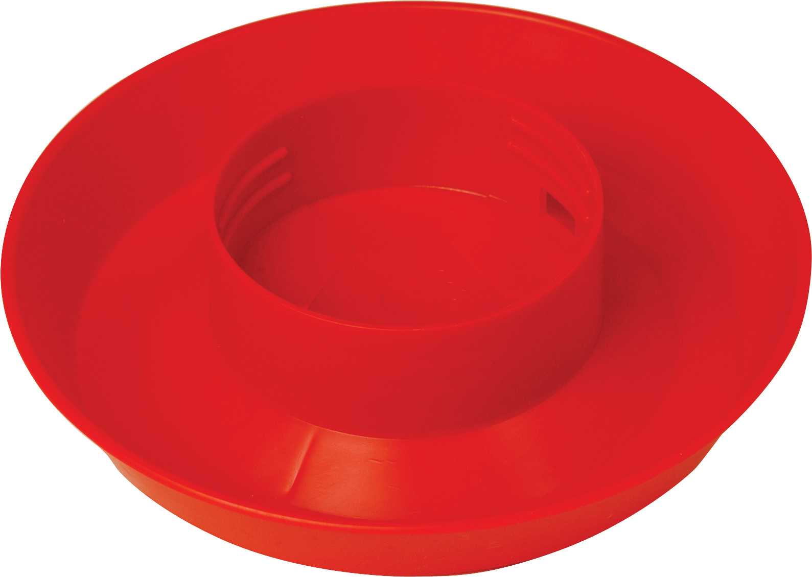 Miller Little Giant Screw-On Poultry Waterer Base, Red, 1-quart