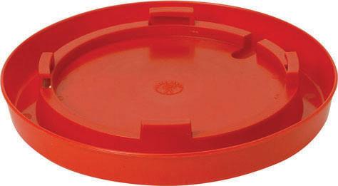 Miller Little Giant Nesting Style Poultry Waterer Base, Red, 1-gallon