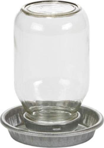Miller Little Giant Mason Jar Baby Chick Waterer, 1-quart (Size: 1-quart) Image