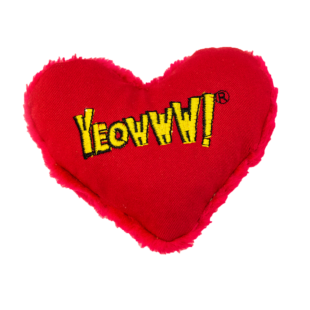 Yeowww! Heart Attack Catnip Toy, Logo Image