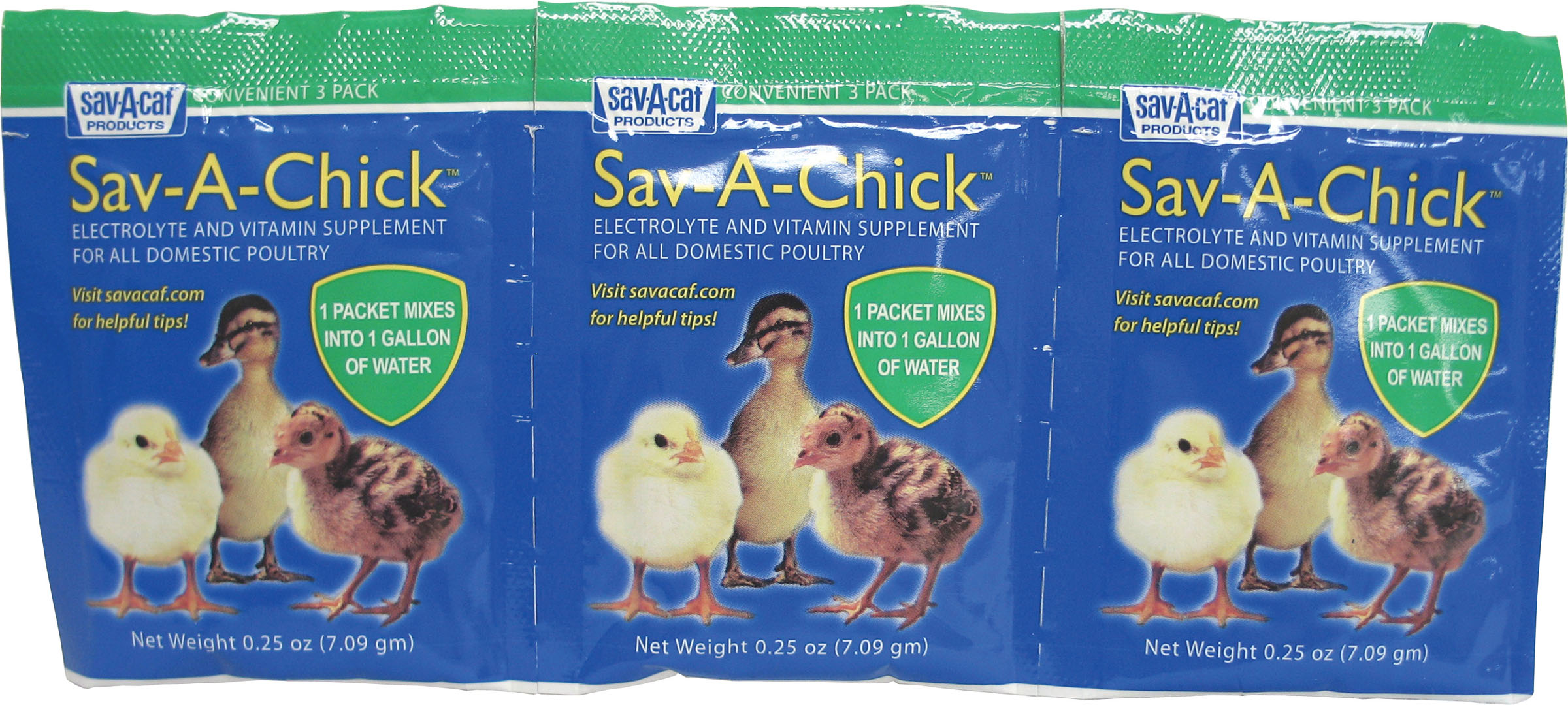 Milk Sav-A-Chick Electrolyte & Vitamin Poultry Supplement, 0.25-oz, 3-count