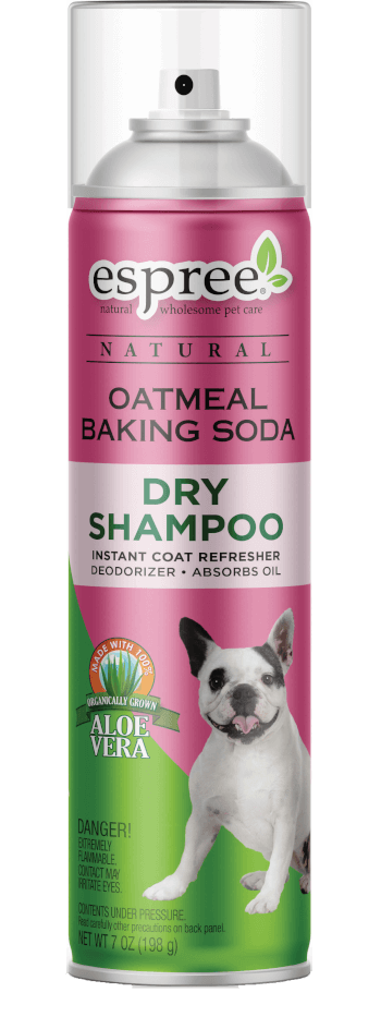 Espree Puppy Oatmeal Baking Soda Dry Dog Shampoo, 7-oz