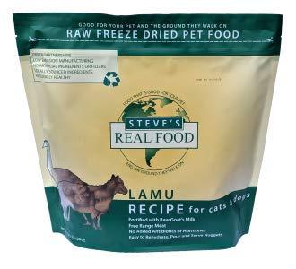 Steve's Real Food Lamu Recipe Nuggets Freeze-Dried Dog Food, 1.25-lb