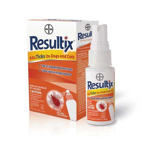 Bayer Resultix Tick Spray for Cats & Dogs, 0.65-oz
