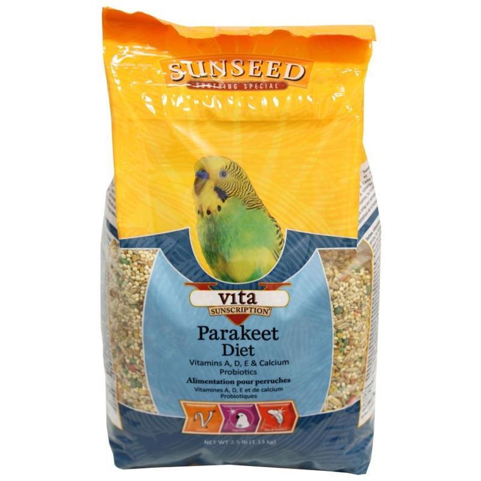 Sunseed Vita Parakeet Diet, 2.5-lb bag