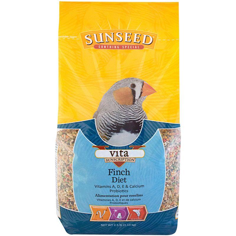 Sunseed Vita Finch Diet, 2.5-lb bag