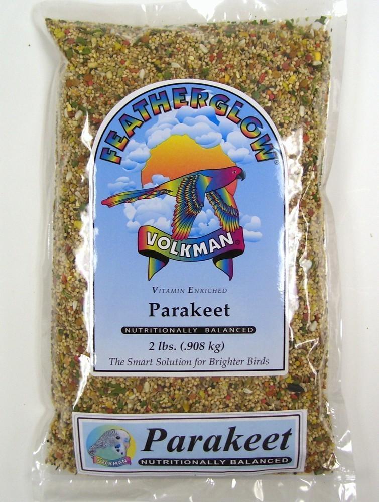 Volkman Featherglow Parakeet Food, 2-lb