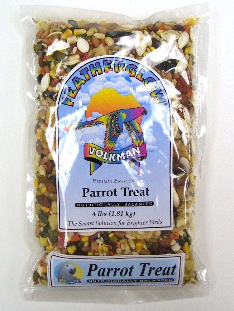 Volkman Featherglow Parrot Treats, 4-lb