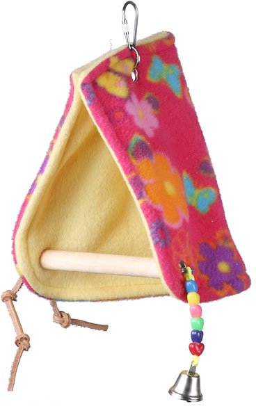 Super Bird Creations Peekaboo Perch Bird Tent, Color Varies Image