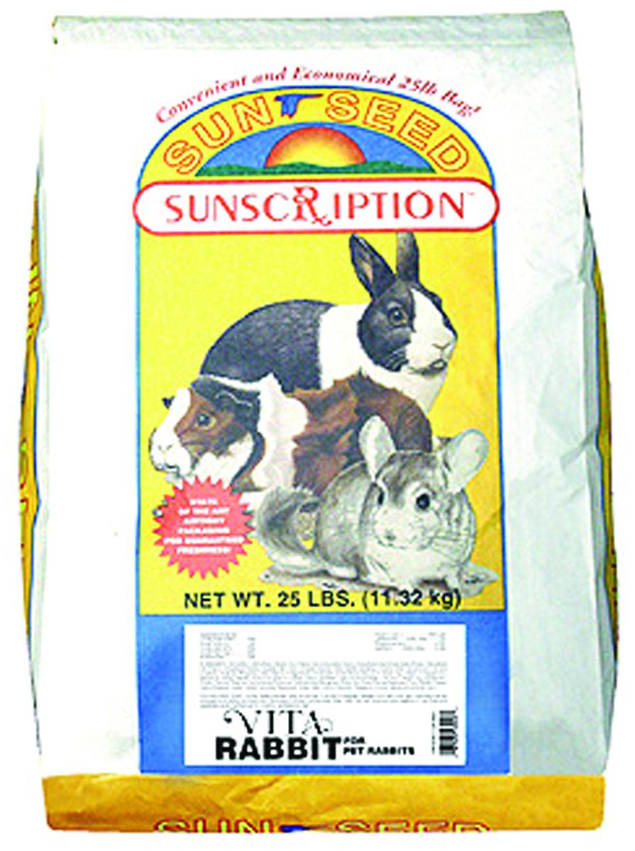 SunSeed Vita Rabbit Formula, 25-lb bag