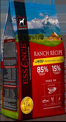 Essence LIR Ranch Recipe Dry Dog Food, 4-lb