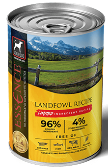 Essence LIR Landfowl Recipe Wet Dog Food, 13-oz