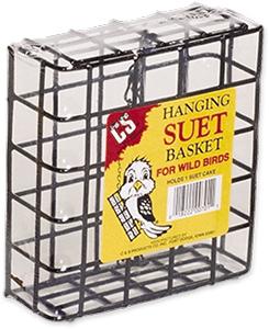 C&S Single Suet Hanging Feeder Wild Bird Basket, 1-in (Size: 1-in) Image
