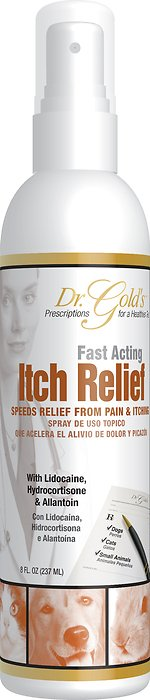Dr. Gold's Itch Relief Spray for Dogs & Cats, 8-oz bottle