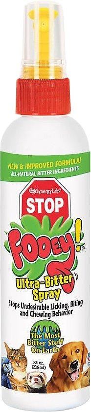 Fooey Ultra-Bitter Training Aid Spray for Pets, 8-oz spray Image