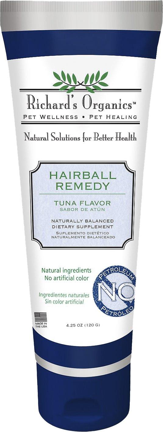 Richard's Organics Tuna Flavor Hairball Remedy, 4.25-oz tube