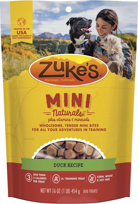 Zuke's Mini Naturals Duck Recipe Dog Treats Image