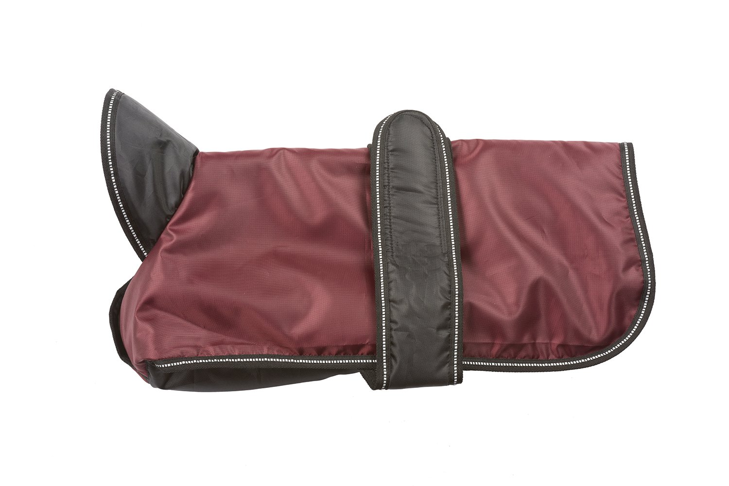 Ethical Fashion Pet Outdoor Dog Arctic Coat, Burgundy, Small