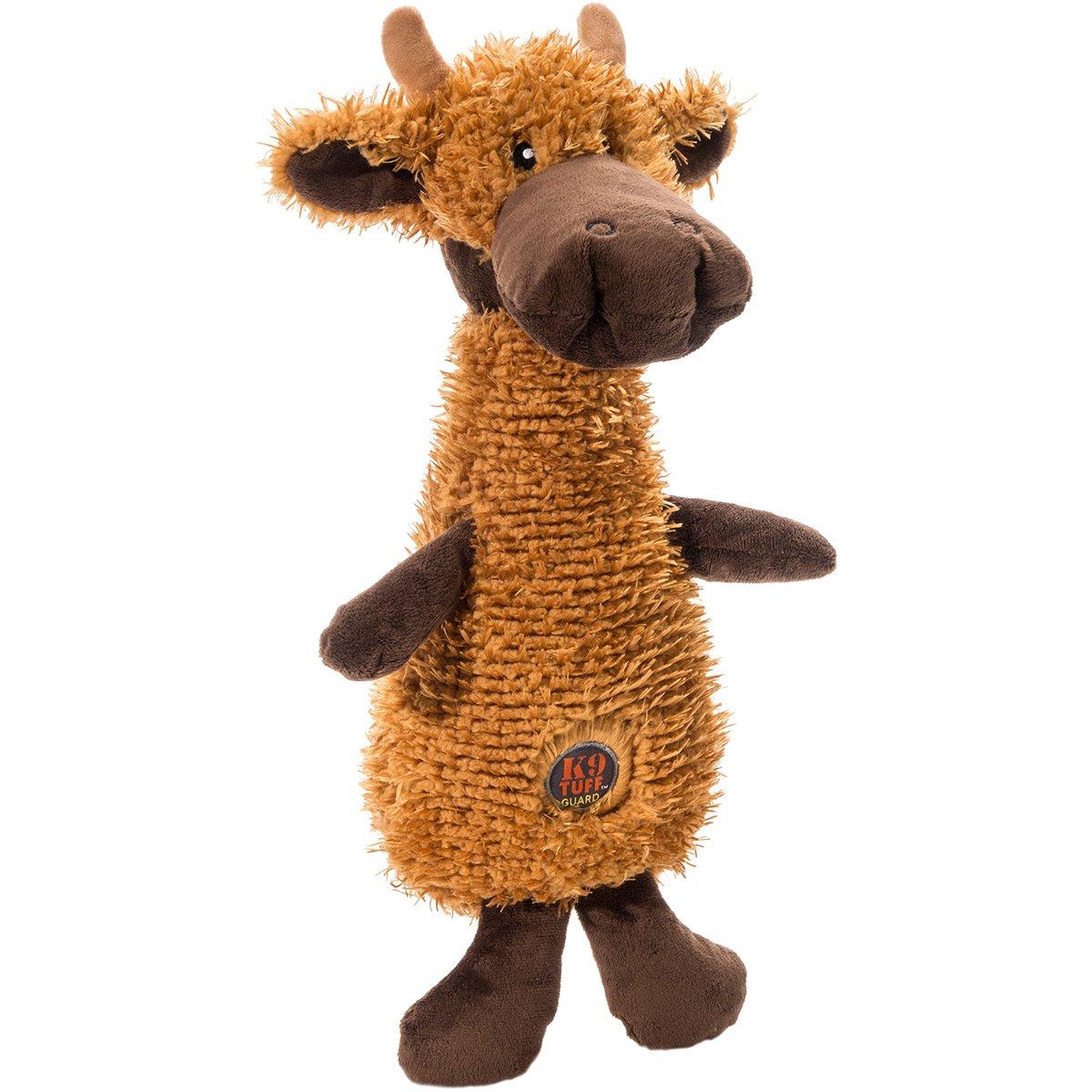 Charming Pet Scruffles Moose Dog Toy, Small