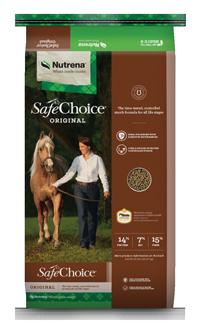 Nutrena SafeChoice Original Horse Feed, 50-lb