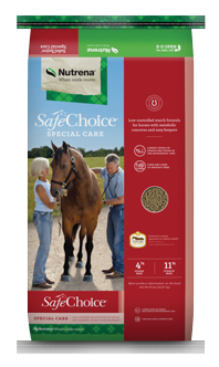 Nutrena SafeChoice Special Care Horse Feed, 50-lb