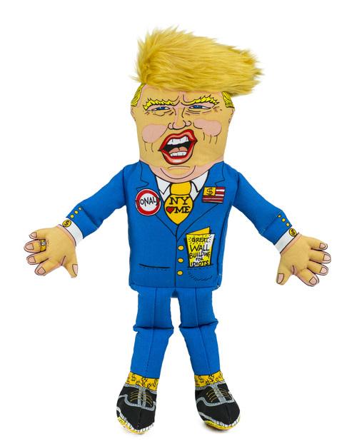 Fuzzu Donald Trump Dog Toy, Large