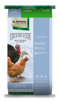 Nutrena Country Feeds All Flock Feed, 50-lb