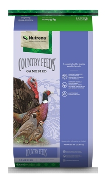 Nutrena Country Feeds Gamebird Feed, 50-lb