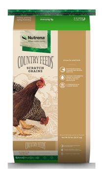 Nutrena Country Feeds Scratch Grains Poultry Feed, 50-lb