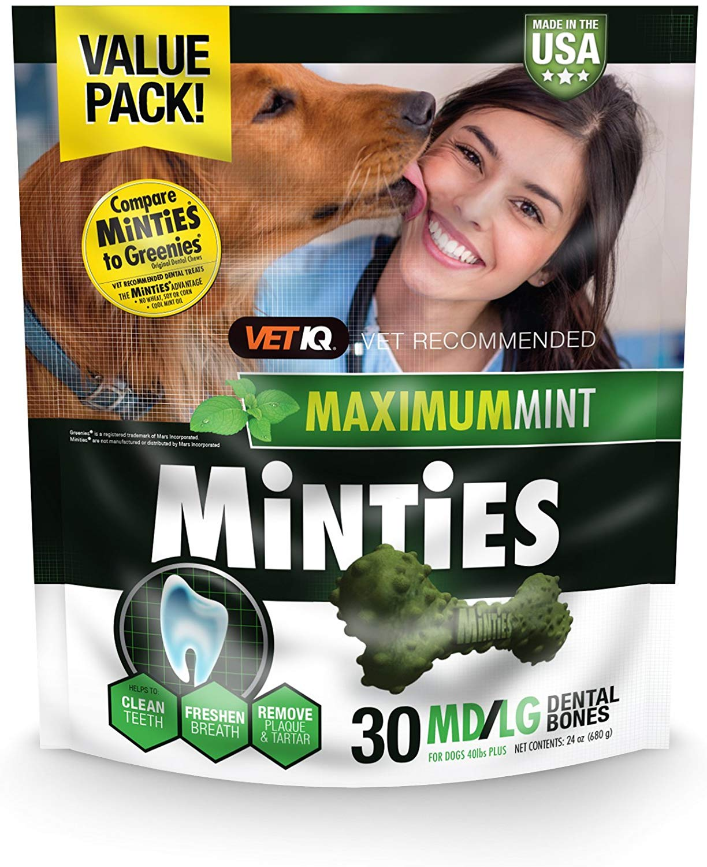 VetIQ Minties Dental Medium/Large Dog Treats Image