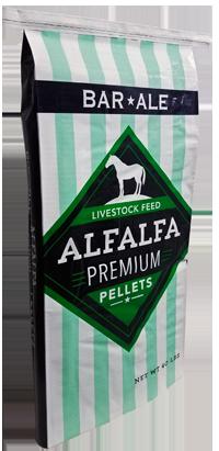 Bar ALE Alfalfa Hay Pellet Livestock Feed, 40-lb (Size: 40-lb) Image