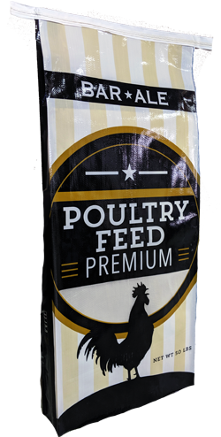 Bar ALE 20% Complete Flock Crumble Poultry Feed, 50-lb