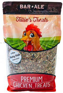 Bar ALE Tillie's Treats 6-Way Whole Grain Party Pak Poultry Feed Image