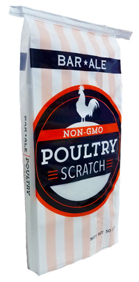 Bar ALE Scratch Mix Non-GMO Poultry Feed Image