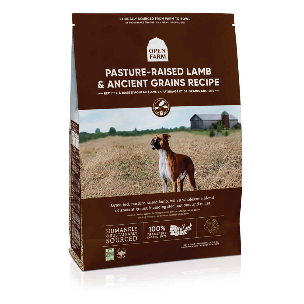 Open Farm Pasture-Raised Lamb & Ancient Grains Recipe Dry Dog Food Image