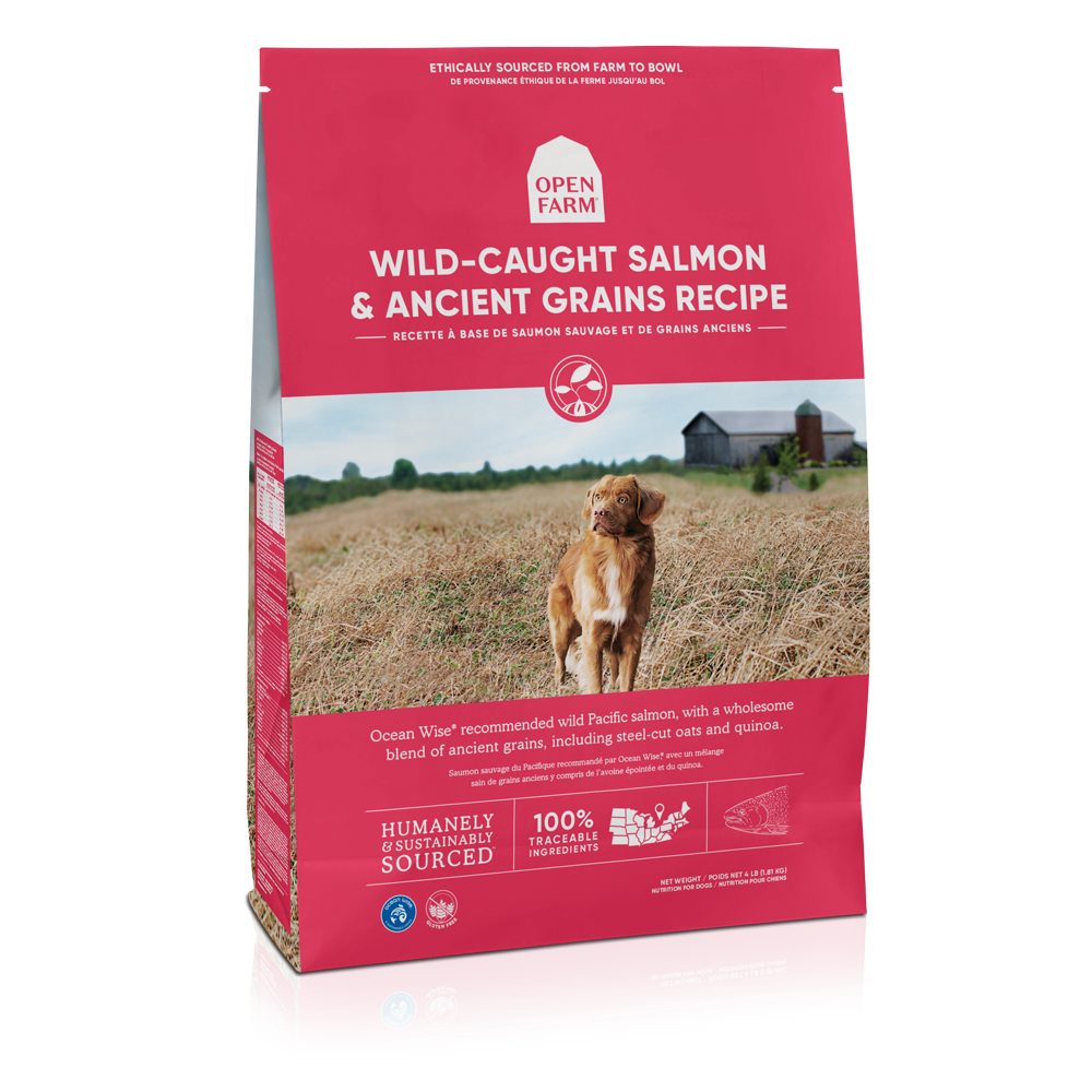 Open Farm Wild-Caught Salmon & Ancient Grains Recipe Dry Dog Food Image