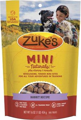 Zuke's Mini Naturals Rabbit Recipe Dog Treats, 1-lb bag